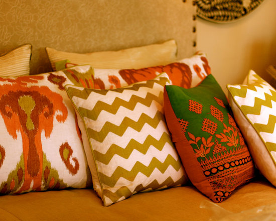 Pillows - Infuse your space with pattern and lively colors.
