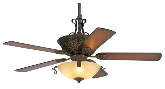 Rustic Lodge 52 Casa Contessa Copper Bronze Ceiling Fan