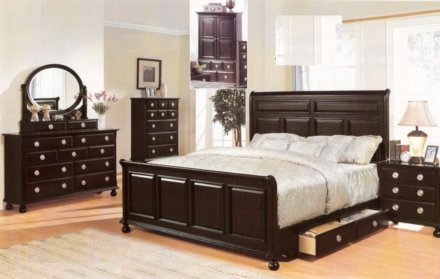 Acme Furniture Amherst Espresso Finish Wood Queen
