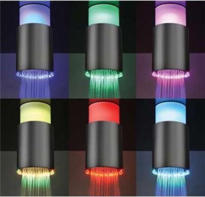 Led Light Chromatherapy Shower Head bathroom-accessories