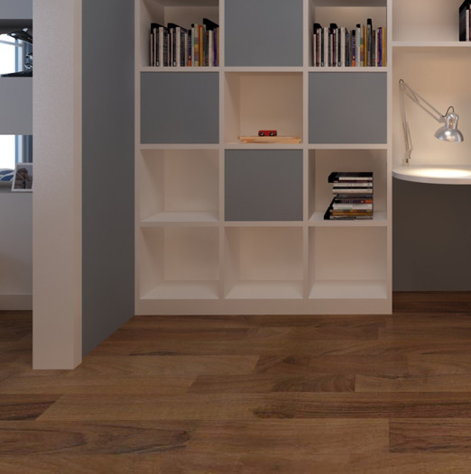 Resilient Flooring Thickness: Slate & Wood III Collection