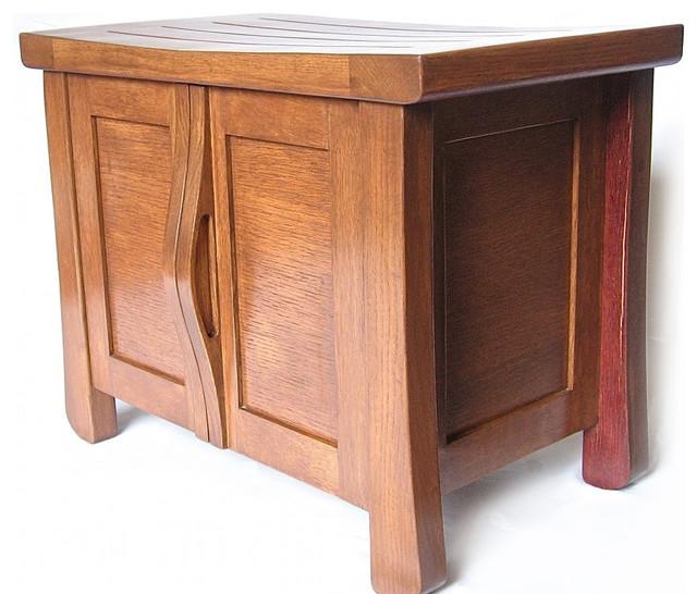 Elf, Cabinet/ Bench/Shoe Storage, Recycled Oak Wine ...
