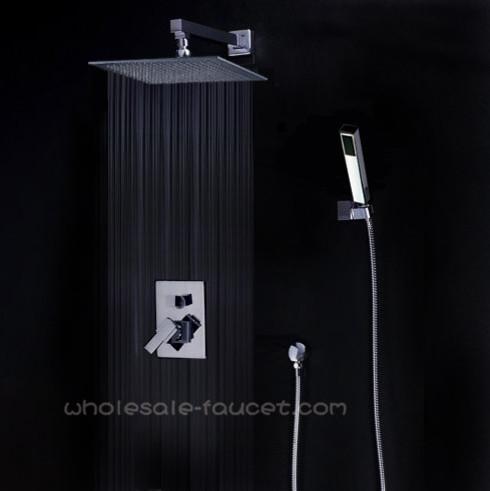 Single Handle Shower Trim Kits With 12 Rain Shower Head AZ 012 Contem