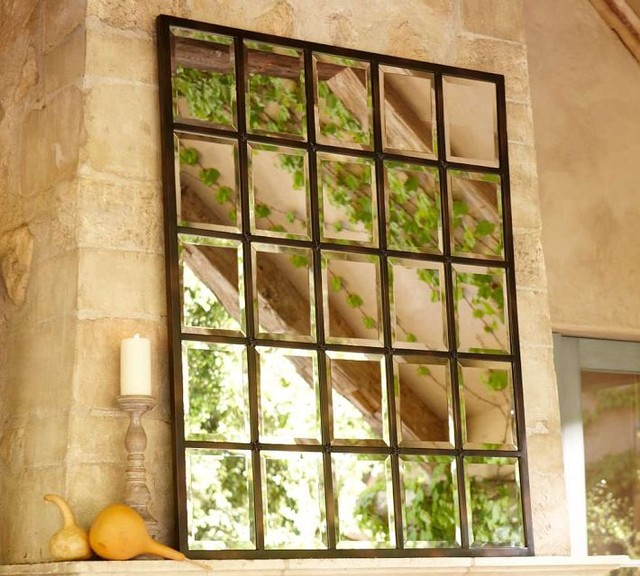 Eagan Multi-Panel Large Mirror eclectic mirrors