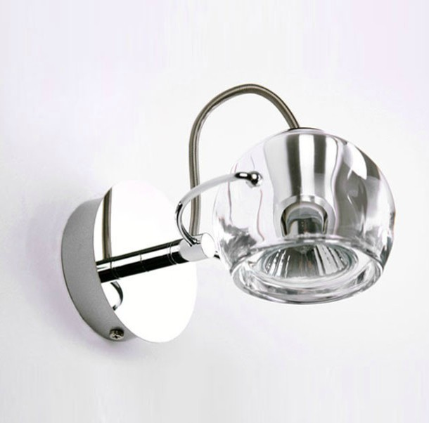 Contemporary Metal Wall Sconces : Milan Modern Glass and Metal wall sconce - Contemporary - Wall Sconces - new york - by PHOENIX ...