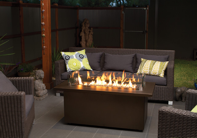 Regency Plateau Coffee Firetable Modern Fire Pits By Regency Fireplace Products