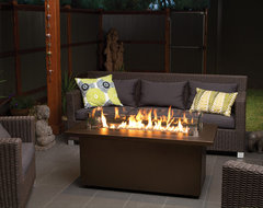 Regency Plateau Coffee Firetable modern firepits