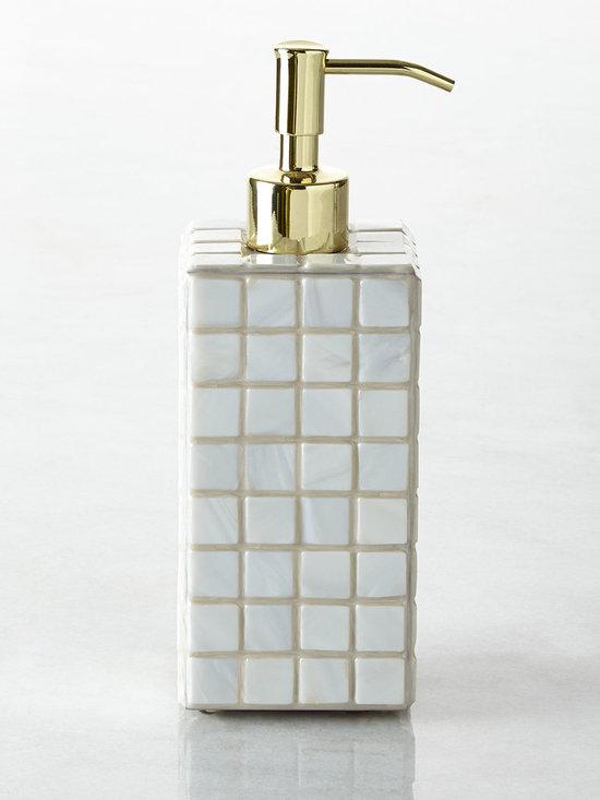 Mike & Ally - Tahiti Pump Dispenser - MOONGLOW/GOLD (OTHER) - Mike & AllyTahiti Pump Dispenser