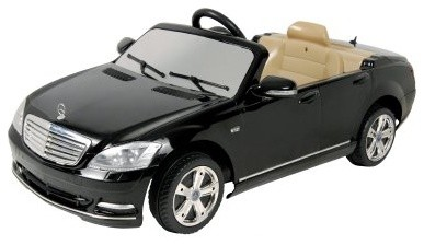 Mercedes-Benz Black S-Klasse - Battery Riding Toy - W221-2009 modern-kids-toys