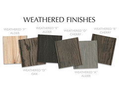 Dura Supreme Weathered Finish Collection contemporary-kitchen-cabinetry