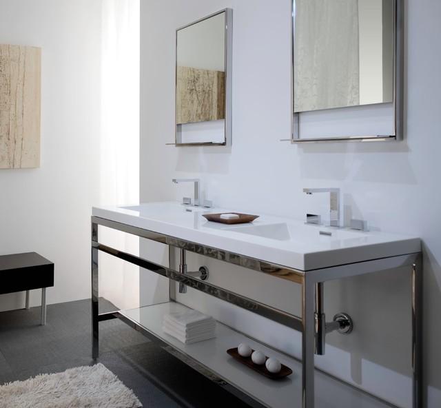 Wet Style Cube sink 60'' modern-bathroom-sinks