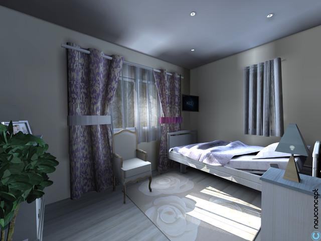 garden cocoon classique chic chambre. Black Bedroom Furniture Sets. Home Design Ideas