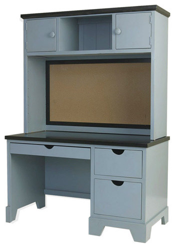 Newport Cottages Andies Desk and Optional Hutch contemporary-kids-desks-and-desk-sets