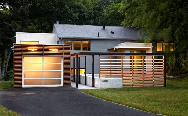 East Jefferson Residence contemporary-exterior