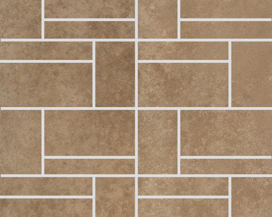 Limestone Collection Walnut  Design 2 Mosaic -