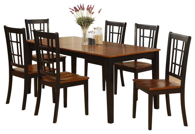 7 piece formal dining room set dining room table and 6
