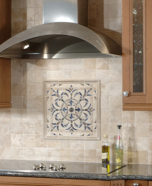 sonoma tilemakers backsplash medallion