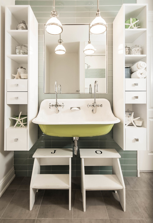 Bathroom vanity ideas for A style text decoration