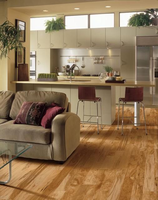 hickory engineered floor