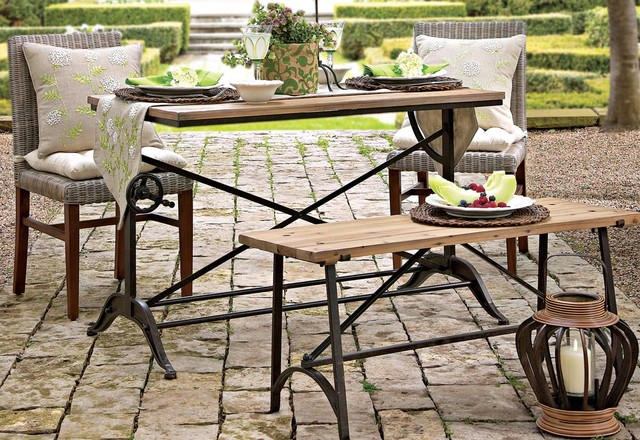 Alfresco Table And Chair Modern Outdoor Dining Sets