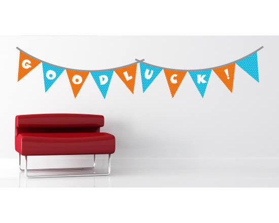 Pack wall stickers - Let the fiesta start with this cute pack of bunting wall decals. A great way to decorate your space for a party or to give it a more cheerful permanent look!