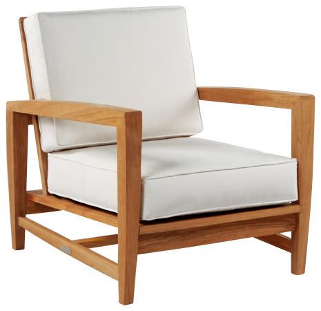 Amalfi Deep Seating Lounge Chair - By Kingsley Bate modern-outdoor-lounge-chairs