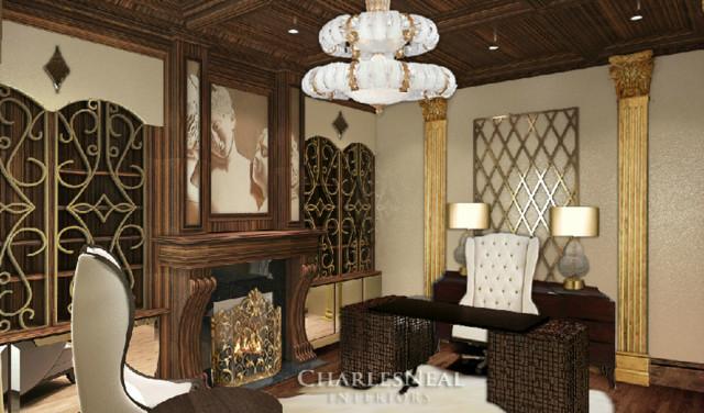 Atlanta interior design contemporary home office - Home interior decorators in atlanta ga ...
