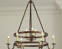 Ella 9 Light Chandelier mediterranean-chandeliers
