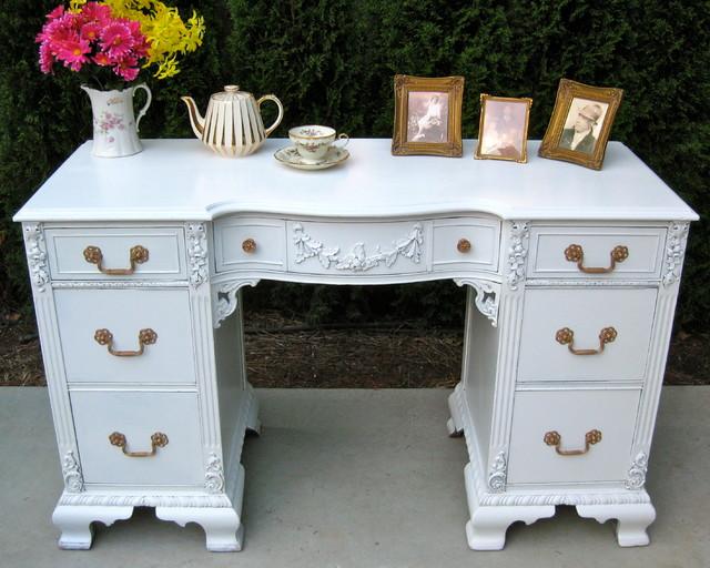 Vintage & Antique Desks - Traditional - Desks And Hutches - new york - by Monet's Attic