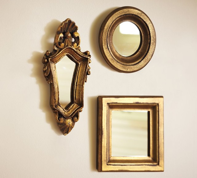Traditional Mirrors by Pottery Barn