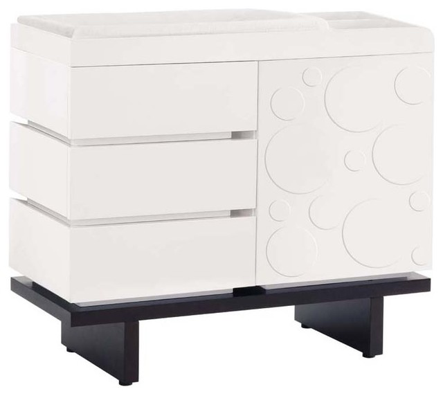 Two Wide Changing Table By Nurseryworks modern-changing-tables