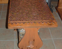 Reinvent It Penny For Your Thoughts On This Antiqued Table
