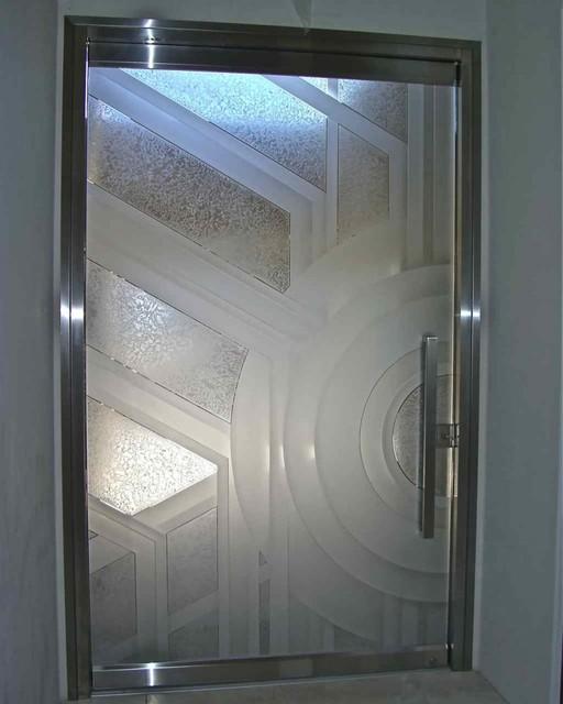 Sun odyssey all glass doors eclectic front doors for All glass front door