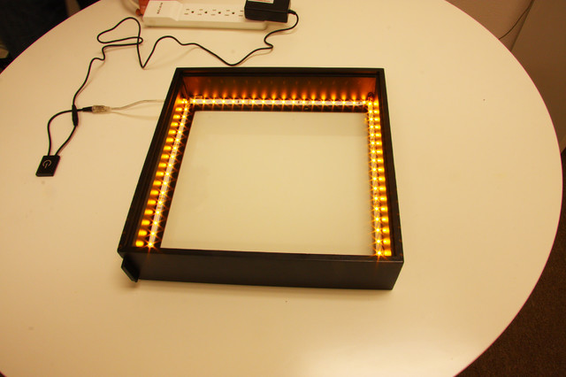 Do It Yourself Lighting: Do-it-yourself LED Light Box