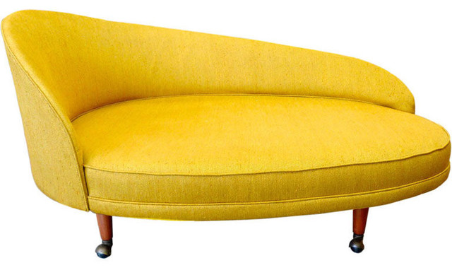 Adrian Pearsall for Craft Associates Curved Chaise modern