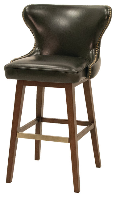 Julie Swivel Barstool Traditional Bar Stools And
