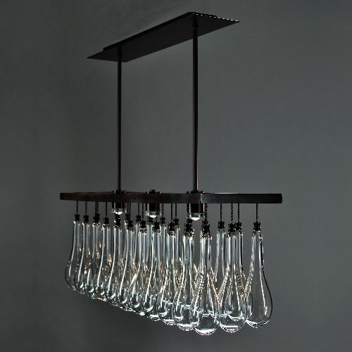 Solano Chandelier by Zia Priven contemporary chandeliers