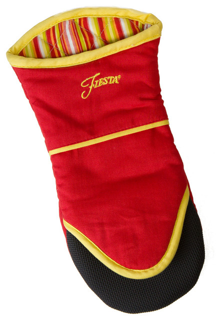 Fiesta Oven Puppet Mitt, Scarlet transitional-oven-mitts-and-pot-holders