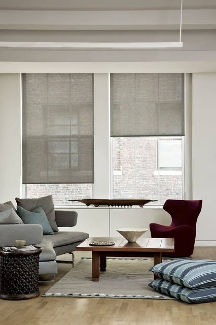 Smith and noble classic roller shades traditional for Smith and noble bamboo shades