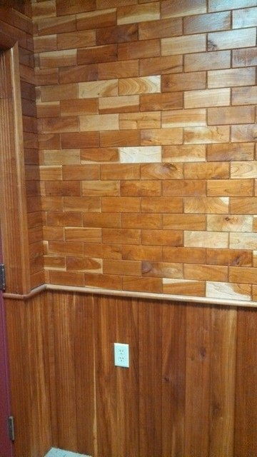 Wooden Subway Tile From Homedepot Com Rustic Tile