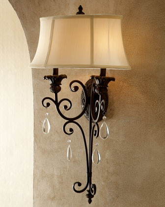 Bronze Victorian Sconce traditional wall sconces