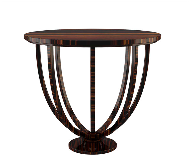 Macassar Ebony Side Table modern-side-tables-and-end-tables