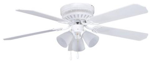 Ellington CC52WW5C3 Celeste 52 in. Indoor Ceiling Fan - White traditional-ceiling-fans