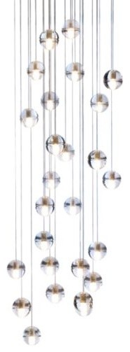 Bocci 14 Series Twenty-Six LED Pendant Chandelier contemporary chandeliers