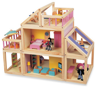 Designed By You Dollhouse - Contemporary - Kids Toys And Games - by Buy Buy Baby