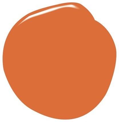 Benjamin Moore Natura Paint, Orange Parrot modern-paint