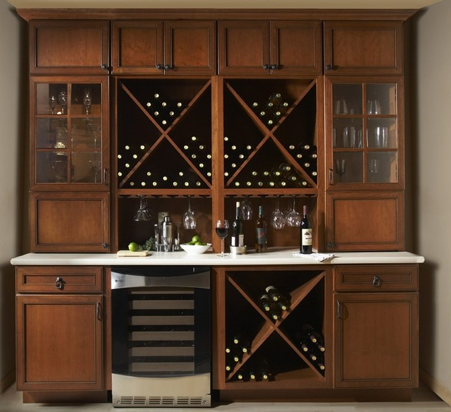 Woodland bar  cabinet and drawer organizers