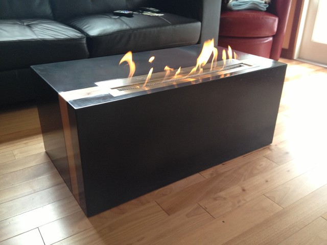 Fire Tables Coffee Tables Seattle By Agitated Aggregate Handcrafted Concrete Elements