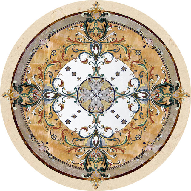 Stone Medallions Collection Wall And Floor Tile Philadelphia By