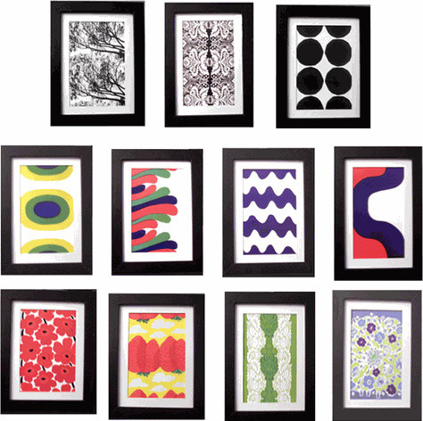 Marimekko Framed Prints modern artwork